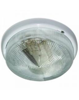 Светильник накл.для Л.Н.100 Вт IP44 круг осн. белый прозрачный (1005500576)