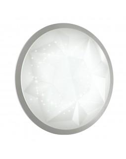 Светильник LED 24W 220V пластик/белый/никель VICTORY