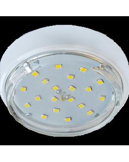 Светильник накладной для КЛЛ GX53,18*83, белый, б/л