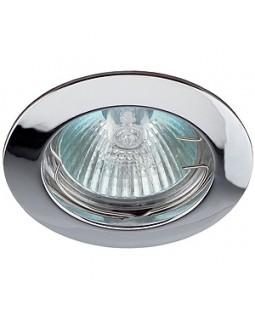 Светильник встраиваемый для Г.Л. 50Вт  МР16, хром