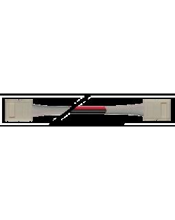Коннектор для светодиодной ленты SMD5050 10мм 2-pin + провод 15см + 10мм 2-pin