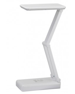 Светильник настольный LED 3Вт 3000К IP20 белый складной