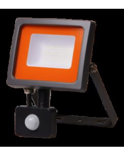 Прожектор LED 30Вт 2250Лм 6500К IP54 с ИК датчиком движения