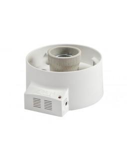 Светильник(основание) накладной 10-60Вт Е27 с оптико-акустическим датчиком