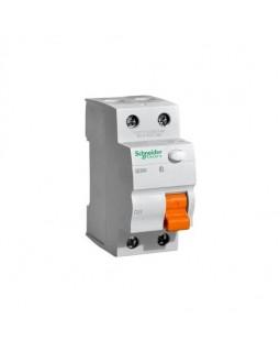 Выкл. дифф. тока 2-пол. 16А 10 мA тип AC серия Домовой ВД63