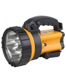 Фонарь-светодиодный аккумулятор 4В4.5АЧ,6Х1ВТ LED SMD,СИГНАЛ.СВ.,ЗУ 220V+12V