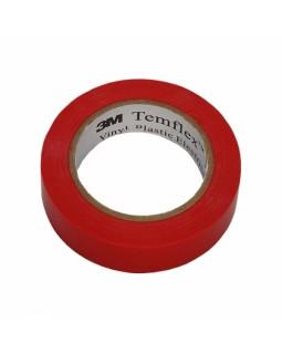 Temflex 1300 изолента красная 15мм x 10м