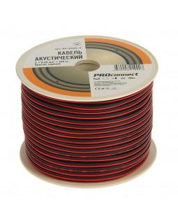 Кабель акустический 2х0.35 кв.мм красно-черный (100м) ProConnect