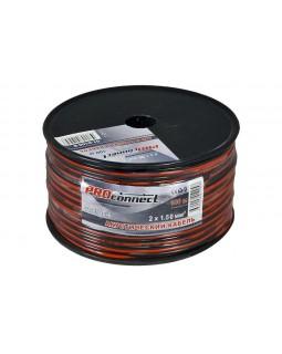 Кабель акустический 2х1.50 кв.мм красно-черный (100м) ProConnect
