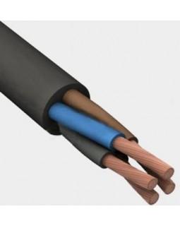 Кабель силовой 4х 2,5 кв.мм медный гибкий с резиновой изоляцией холодостойкий