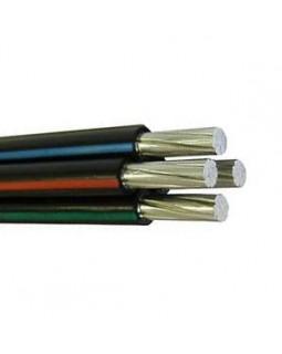 Провод самонесущий изолированный 4х16 кв.мм алюминиевый 0,66/1 кВ с ПЭ изоляцией