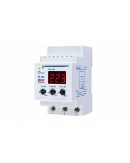 Реле контроля напряжения модульное 160-280В 63А тип РН-106