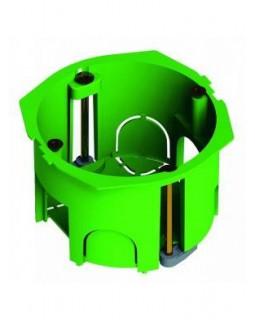 Коробка монтажная установочная 68х45мм для полых стен пласт. лапки, IP30 (КУ1201-м)