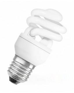 Лампа энергосберегающая 23 (24) Вт Е27 тонкая спираль, тёплый 2700К