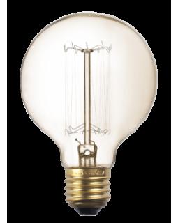 Лампа-РЕТРО накаливания G80 GOLD 40W E27