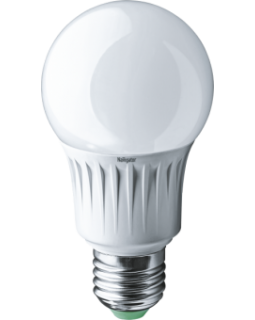 Лампа светодиодная 12 Вт 230В Е27 колба А60, термопластик, тёплый 71 296