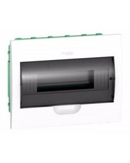 Щит встраиваемый 12мод. с прозрачной дверью, IP40, IK07, 63А, 2 клеммы