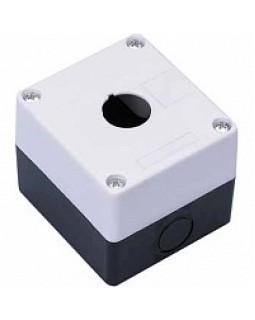 Корпус для кнопок 1место белый тип КП101
