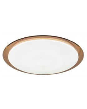 Светильник накладной светодиодный 60Вт 3000-6500 К 4800Лм SPB-6 Saturn коричневый кант