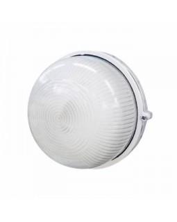 Светильник накл.для Л.Н.100 Вт IP54 круг белый без решётки
