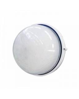 Светильник накл.для Л.Н.60 Вт IP54 круг белый без решётки