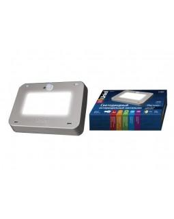 Светильник накл.LED 9,5Вт 800Лм IP65 антивандальный+датчик движ.света корпус серый Наутилус