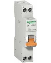 Автоматические выключатели Schneider Electric серии Домовой на токи 6-63А 4,5кА