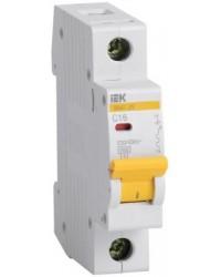 Автоматические выключатели IEK серия ВА 47-29 на токи 1-63А 4,5кА