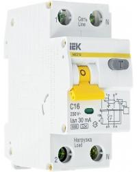 Автоматические выключатели дифференциального тока IEK