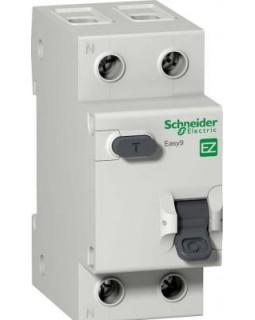 Выкл. дифф. тока 2-пол. 40А 30 мA тип AC серия Easy9