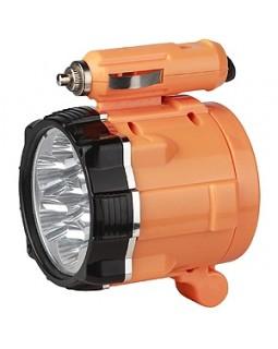 Фонарь-светодиод-автомобильный-аккумулятор 7LED 12В