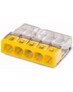 Клемма компактная с пастой 5х(0,5-2,5)мм2