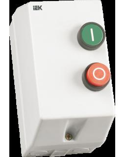 Контактор в корпусе(пластик) 9А катушка 220В АС3 IP54, КМИ-10960