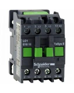 Контактор 12А 3P 1НО катушка 220В AC 50Гц, серия TeSys E