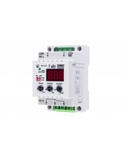 Реле контроля напряжения модульное 160-280В 1ПК 32А тип РН-113
