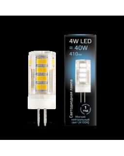 Лампа светодиодная 4 Вт 180-240В G4 керамика 4100K холодный