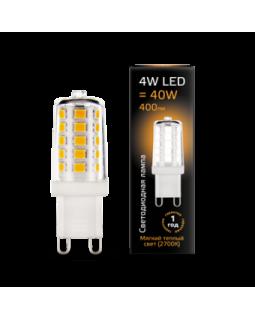Лампа светодиодная 4 Вт 185-265В G9 керамика 2700K тёплый