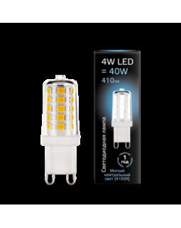 Лампа светодиодная 4 Вт 185-265В G9 керамика 4100K холодный