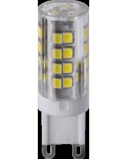 Лампа светодиодная 5 Вт 230В G9 капсульная, теплый 3000К 71 266