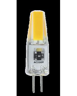 Лампа светодиодная 3 Вт 220В G4 Chip-On-Board, тёплый