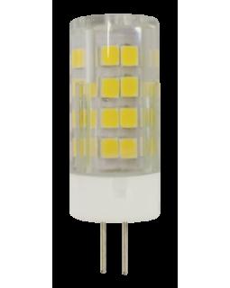 Лампа светодиодная 5 Вт 220В G4 капсульная, тёплый 2700K