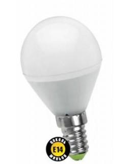 Лампа светодиодная 5 Вт 230В Е14 шарик, тёплый белый 94 476