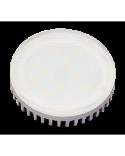 Лампа светодиодная 12 Вт GX53 3000К таблетка, тёплый белый