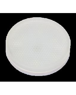 Лампа светодиодная 6 Вт GX53 3000К таблетка матовое стекло, тёплый белый