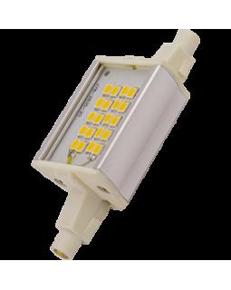Лампа светодиодная 6 Вт R7s L=78mm алюм. радиатор холодный 4200К J7PV60ELC