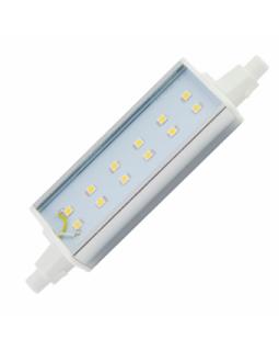 Лампа светодиодная 12 Вт R7s L=118mm алюм. радиатор холодный белый J7SV12ELC