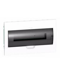 Щит встраиваемый 18мод. с прозрачной дверью, IP40, IK07, 63А, 2 клеммы