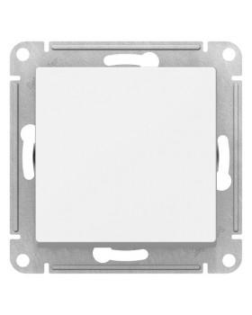 Переключатель 1 клавишный белый AtlasDesign