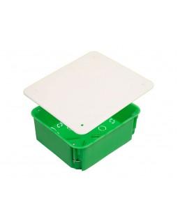 Коробка монтажная разветвительная 160х140х70 мм с крышкой для полых стен металл. лапки, IP 30